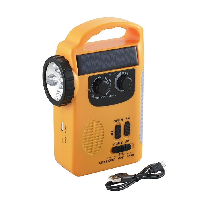エレット 3WAY充電ラジオライト