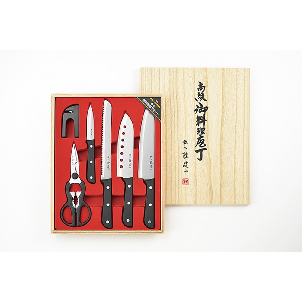 陳建一 四川御料理庖丁6PCセット