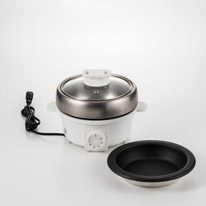 プチ・プレジール 電気ミニグリル鍋(ホワイト)