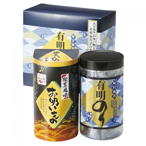 永谷園 松茸風味お吸い物と有明のり詰合せ