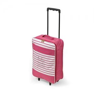 LuluCastagnette 折りたたみキャリーケース ピンク