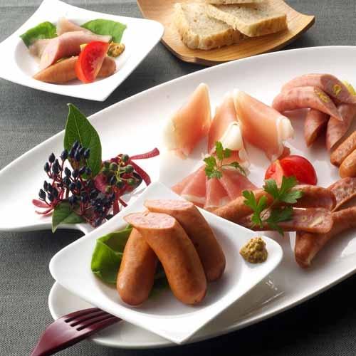 「札幌バルナバフーズ」ハムウインナー詰め合わせ