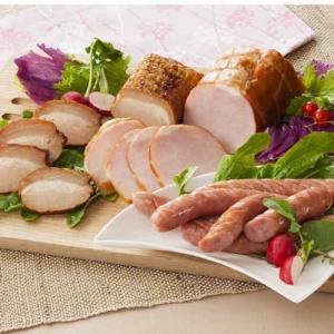 伊賀上野の里 つるし焼豚&ロースハム&ウインナー詰合せ