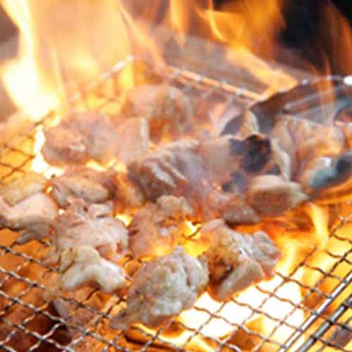 宮崎「日向屋」 鶏炭火焼
