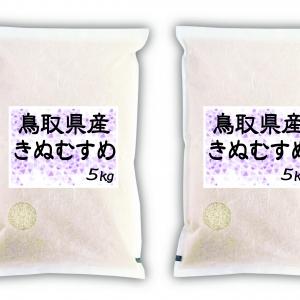 鳥取県産きぬむすめ5kg×2