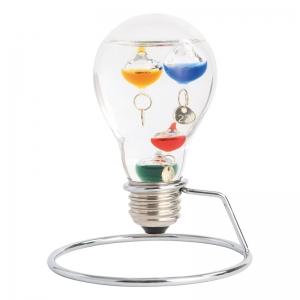 ガラスフロート温度計 電球 333-208