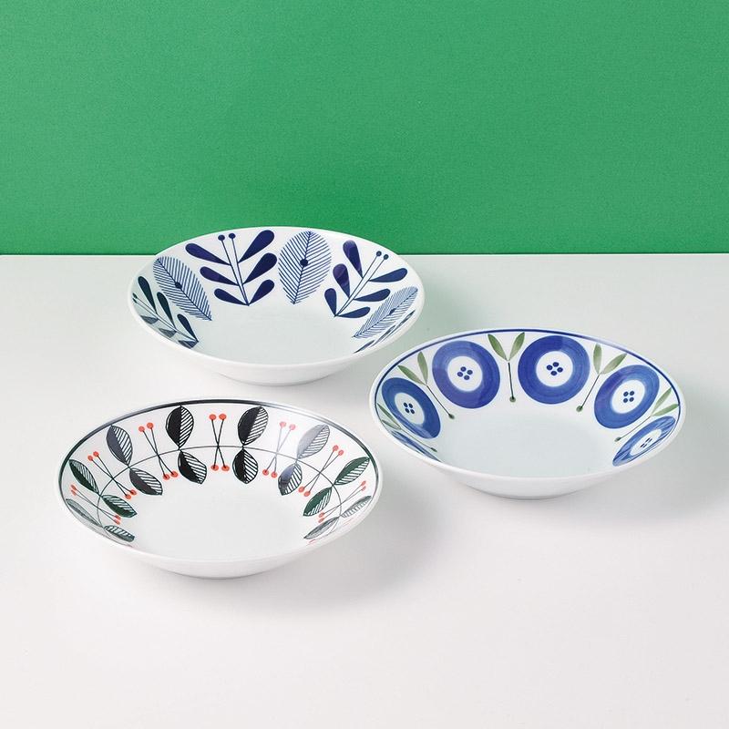 オーラフ麺鉢3柄組 150111