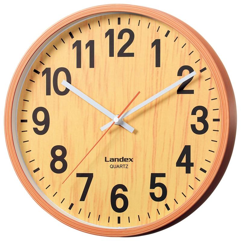 インテリア掛時計 ナチュラル YW9136WH