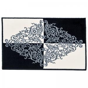 ベルギー製モノトーン柄玄関マット「ダイヤ柄」 1198/5080