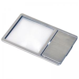 ケンコー 極薄カード型LED付き拡大鏡 KCL-025S