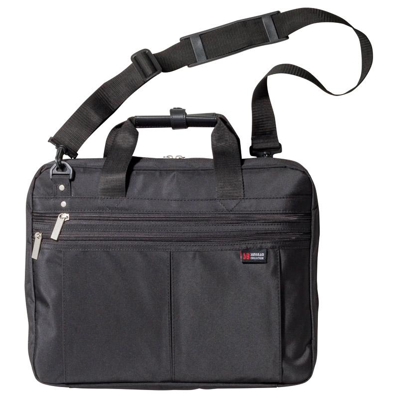 ビジネスバッグ(PC対応)ブラック H2100-4(PP袋入)