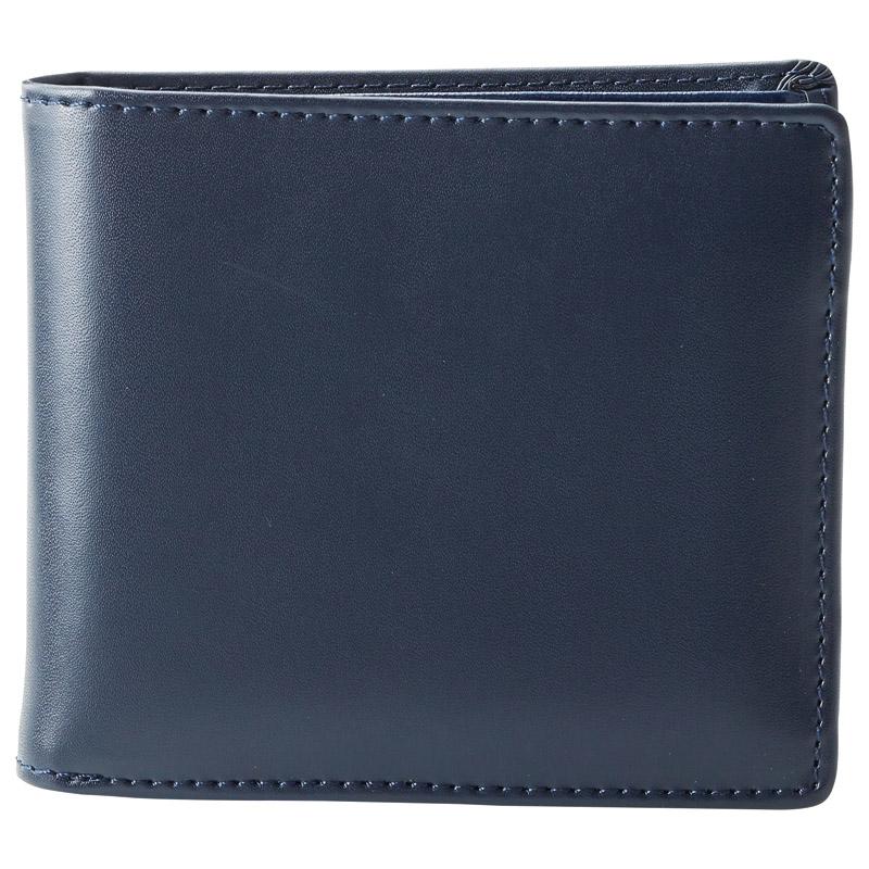 イルムス 二つ折り財布 ネイビー S-IL1335NVY