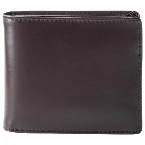 イルムス 二つ折り財布 ブラウン S-IL1335BRN