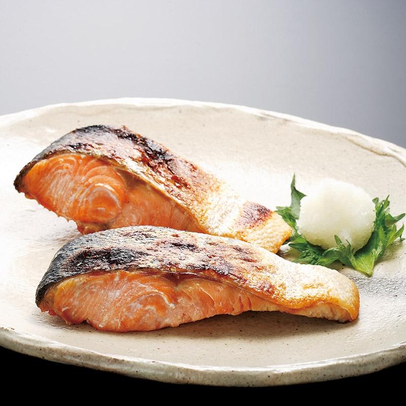 北海道産新巻鮭4切 tl18-30-20