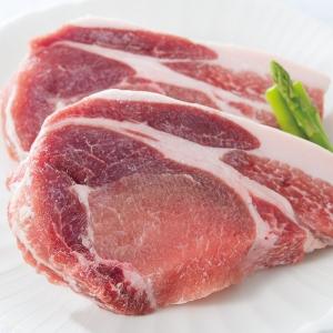 北海道上富良野地養豚ロースステーキ2枚セット 90gX2