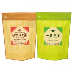 鹿児島紅茶&一番煎茶ティーバッグ詰合せLTP1-30