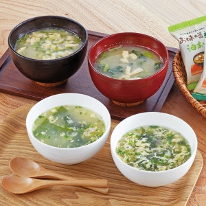 フリーズドライ お味噌汁・スープ詰合せ12P AT-CO