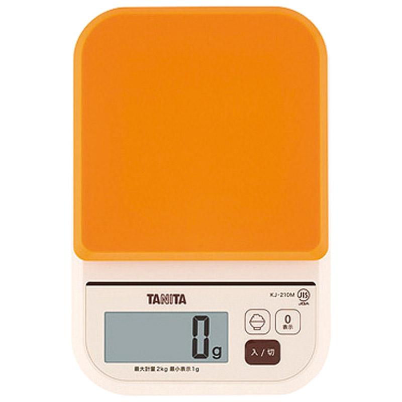 タニタ デジタルクッキングスケール オレンジ