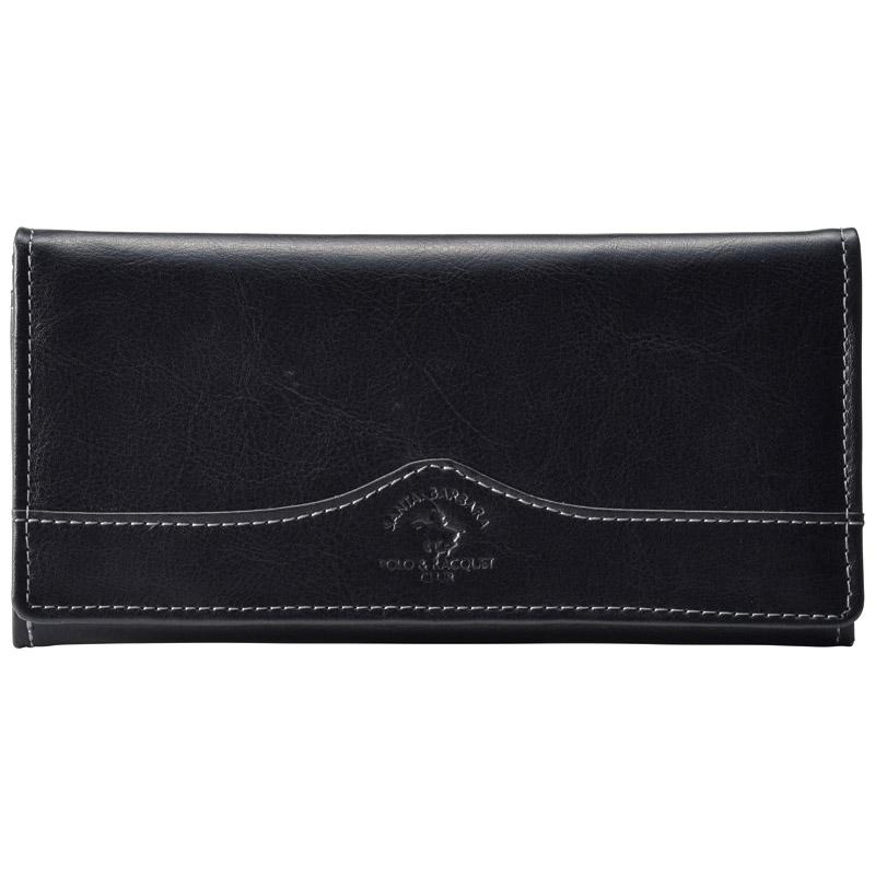 サンタバーバラポロ&ラケットクラブ長財布ブラック SB-9049