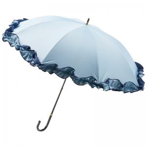 トゥジュールアンサンブル 晴雨兼用パラソル(ブルー)712133