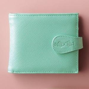 クリオブルー 二つ折財布 ブルー S-EG-CBL240-1