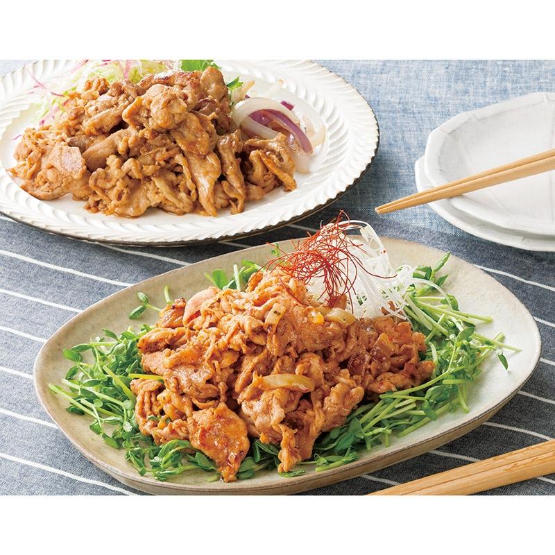さくらポーク生姜焼き&豚キムチ詰合せ