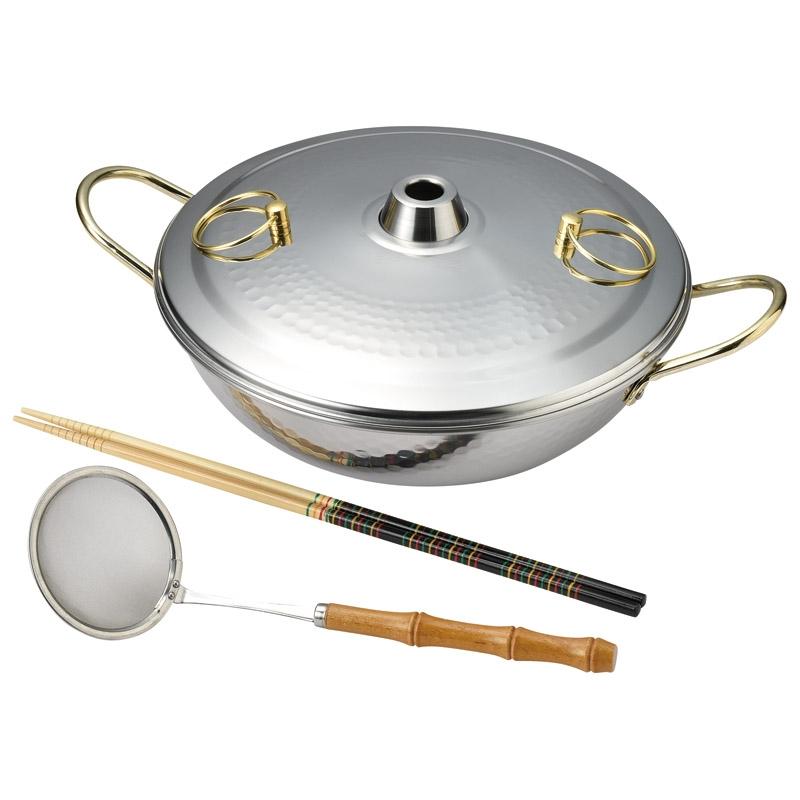 暖楽鍋 ステンしゃぶしゃぶ鍋26cmセット