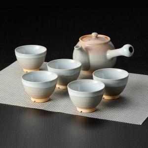 萩焼 茶器揃(茶こし付) 2-38