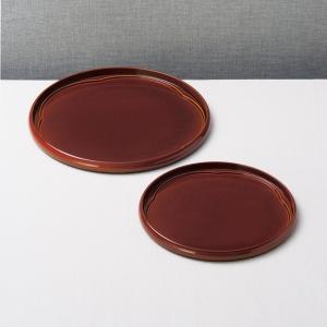 紀州塗 梅 春慶梅型盆 二枚組 901-1