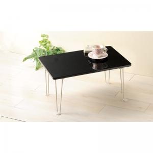 シンプルテーブル PUT-6040BK