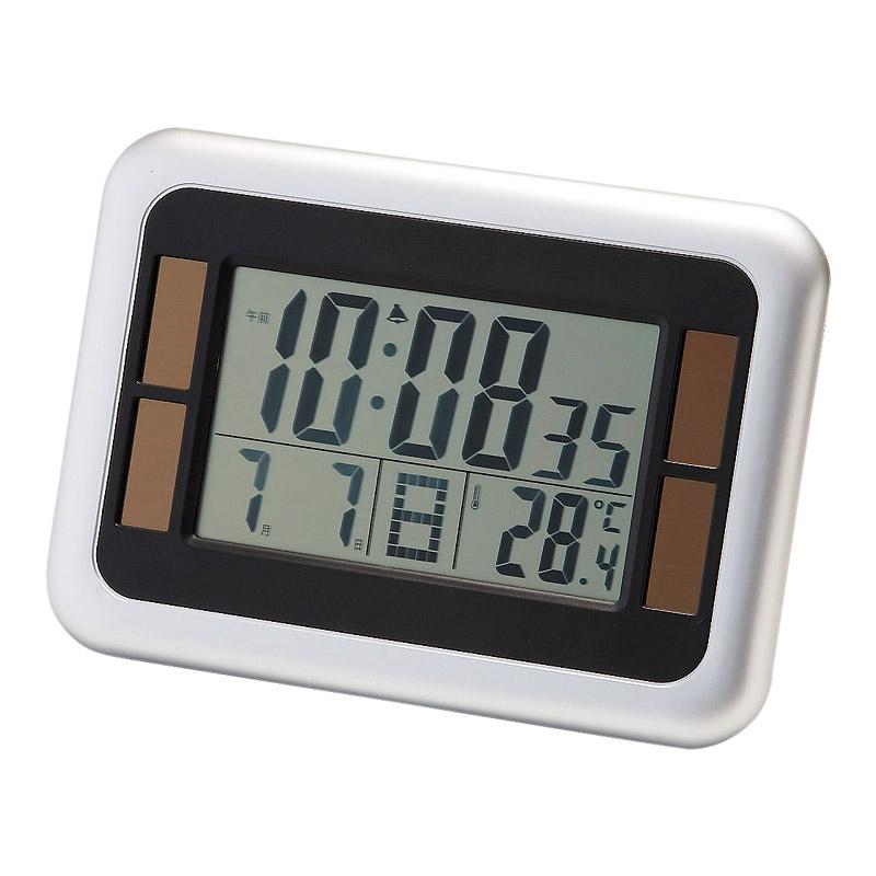 DXソーラー電波デジタル時計 1395
