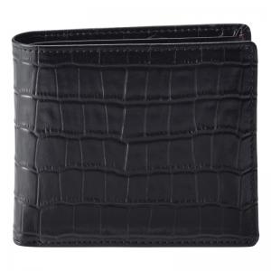 カンサイ 紳士用型押し折財布 S-KSE105018BK