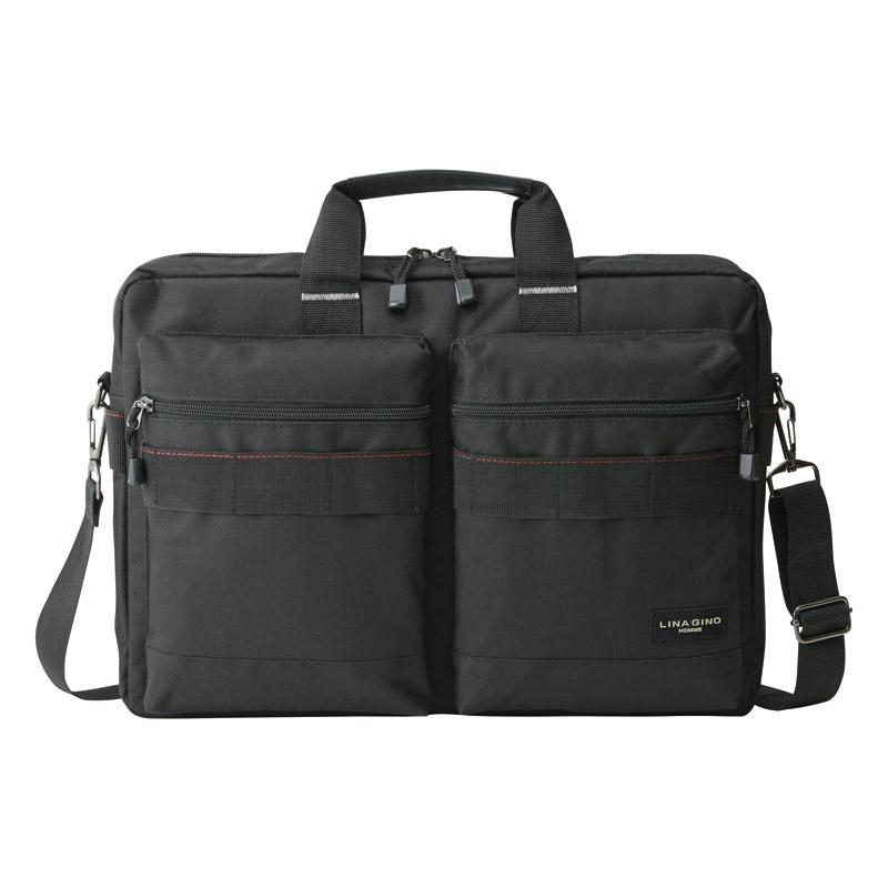 リナジーノ ブリーフ2ポケット(ブラック) 22-5287
