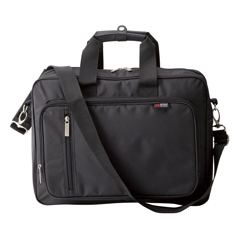 ビジネスバッグ(パソコン対応)(ブラック) H3082