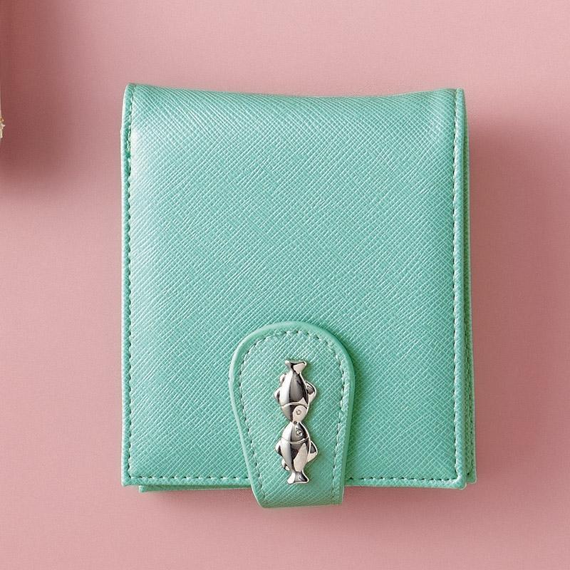 クリオブルー 二つ折財布 ブルー S-EG-CBL250-1