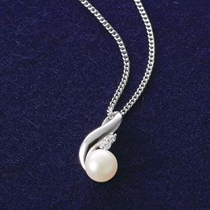 本真珠デザインペンダント 10011