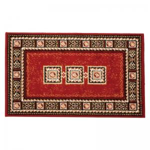 ベルギー製ウィルトン織ロングマット レッド 1793/60100R