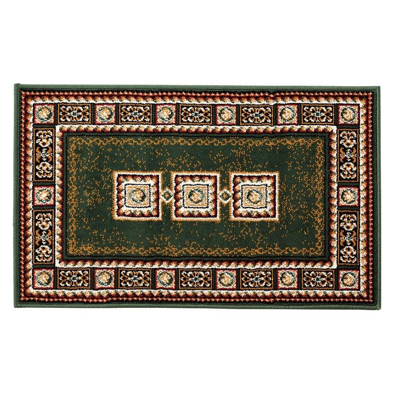ベルギー製ウィルトン織ロングマット グリーン 1793/60100G