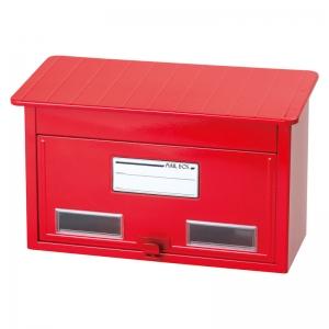 郵政型ポスト レッド CY-20RD
