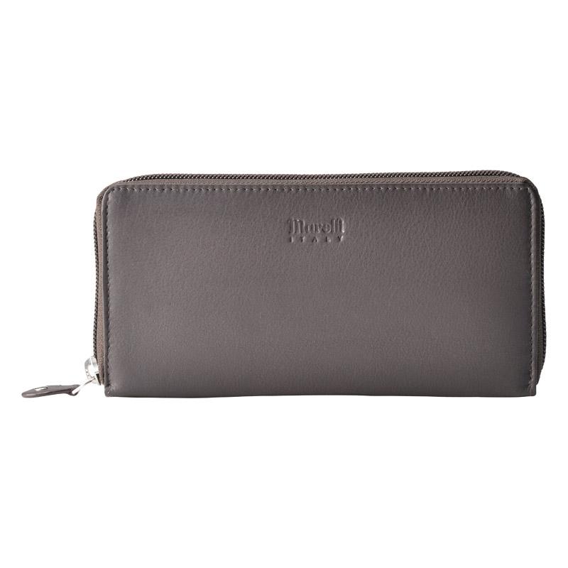 マレリー 紳士ラウンドファスナー財布 チョコ MPC2080