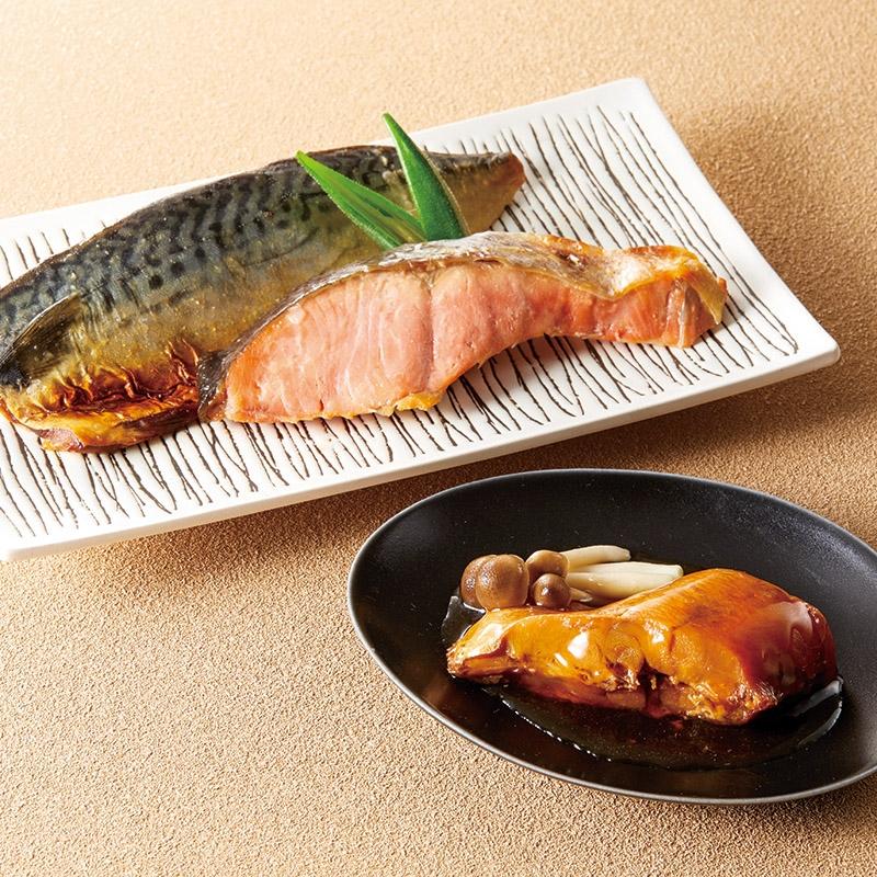 活黒 レンポン煮魚・焼魚詰合せ RN80TE