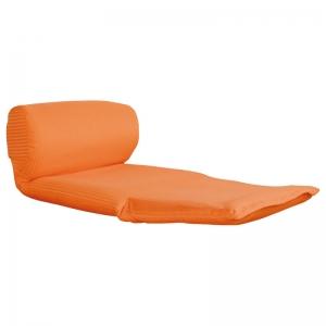 ごろ寝座椅子 オレンジ ワッフルOR