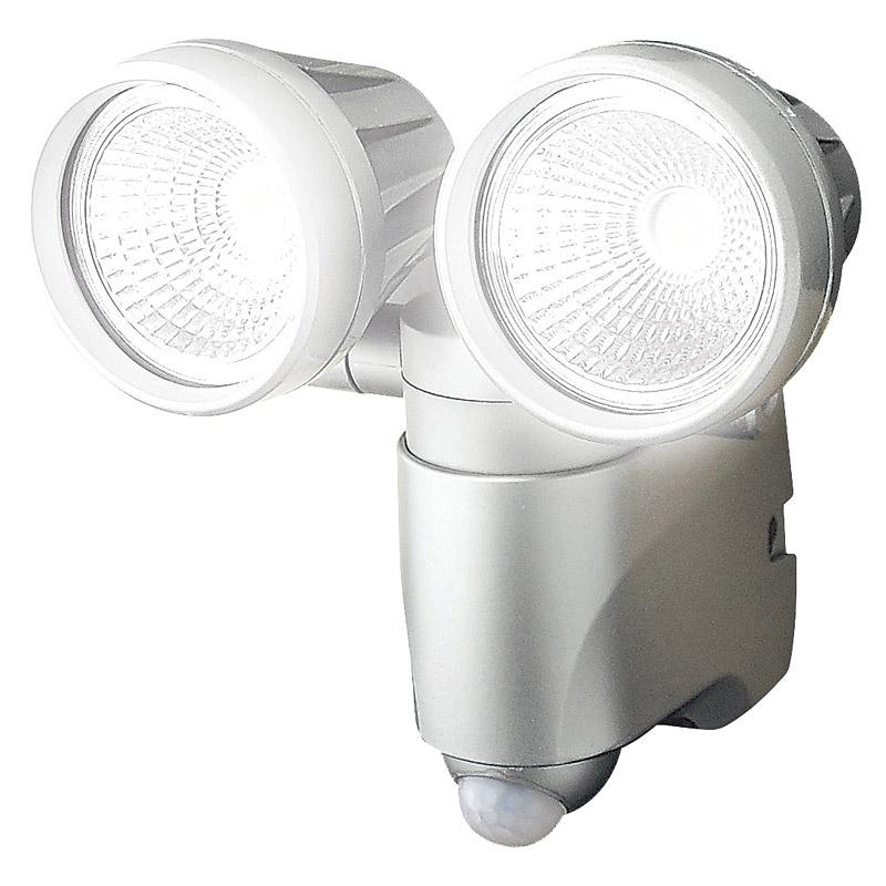 アースマン LEDセンサーライトダブル SLT-6LWB