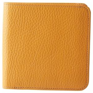 良品工房日本製2つ折財布 キャメル B1110-204CA