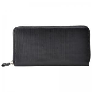 アッシュエルラウンドファスナー長財布ブラック S-HLE14354BK