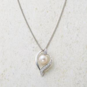本真珠デザインペンダント 13514