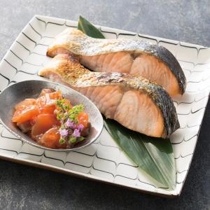 北海道産新巻鮭親子セット 18722