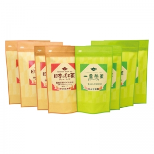 鹿児島紅茶&一番煎茶ティーバッグ LTP1-100