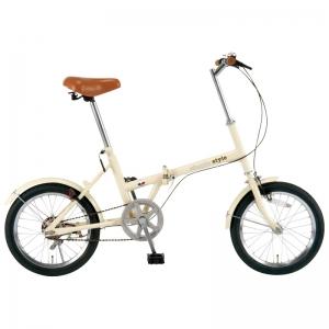 シンプルスタイル 16型折畳自転車 SS-H16/