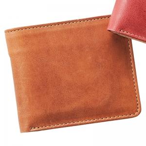 ヌメ革財布 キャメル OJ-4021